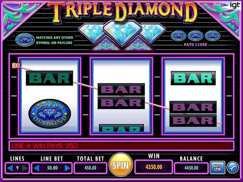 Why You Should Try Triple Diamond Slot Machine
